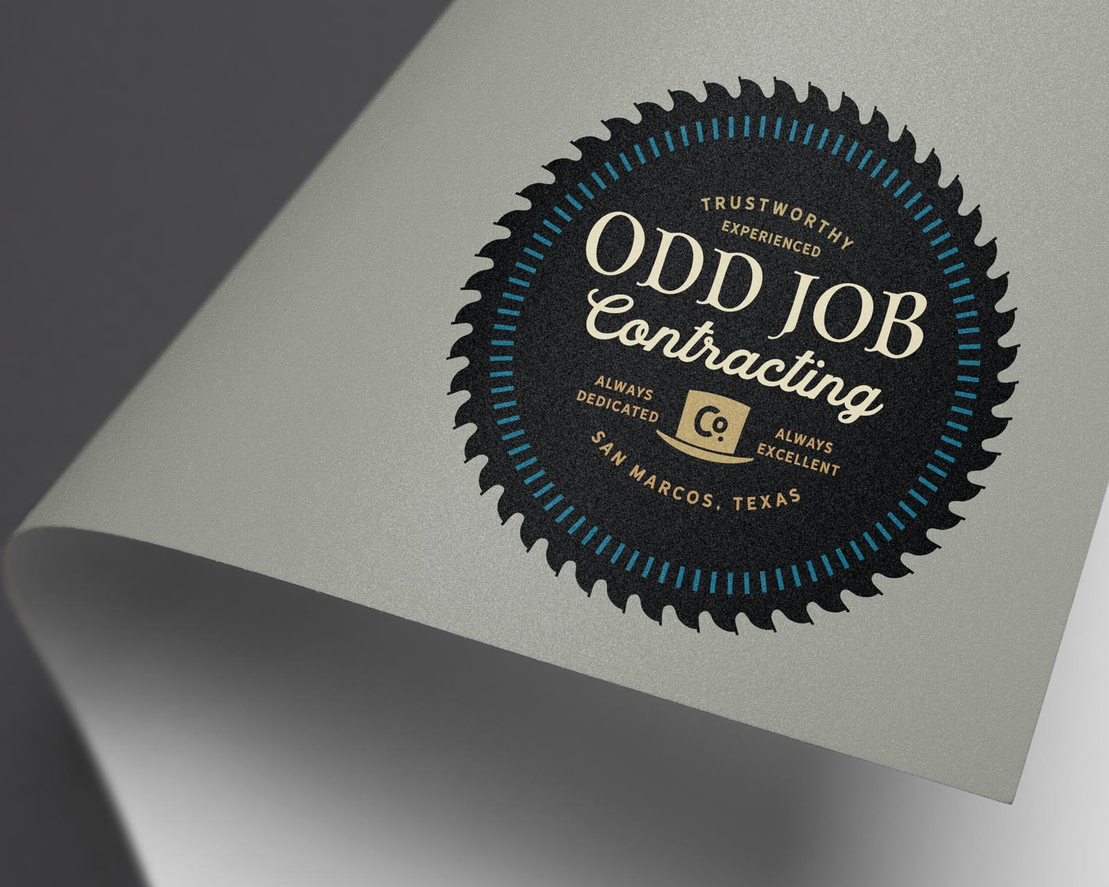 OddJobb-logo-design