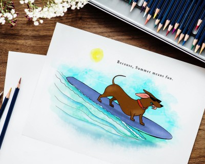 Schatze Illustration San Marcos Texas Creative Hero