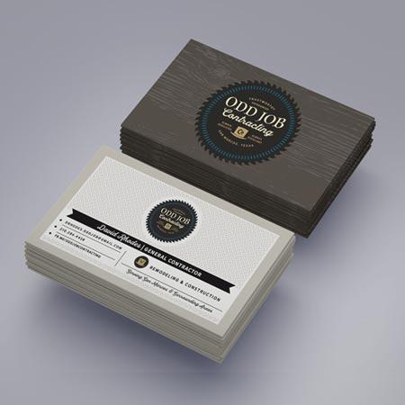 Brand Identity Package custom cards