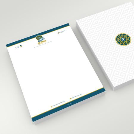 Brand Identity Package yanni's letterhead