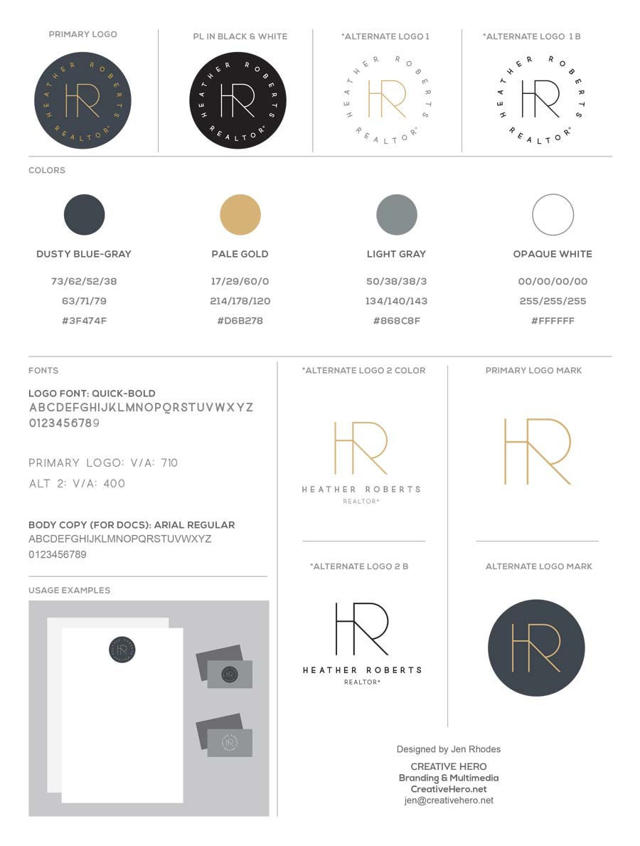 Heather-Roberts-Logo-Brand-Style-Guide